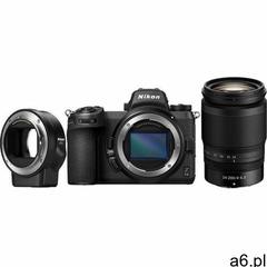 aparat z6ii + obiektyw 24-200mm f4-6.3 vr + ftz marki Nikon - ogłoszenia A6.pl