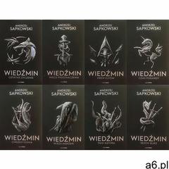 Pakiet: Wiedźmin Tomy 1-8 - Andrzej Sapkowski - książka - ogłoszenia A6.pl