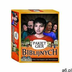 Praca zbiorowa Pakiet gier biblijnych (2 dvd) - ogłoszenia A6.pl
