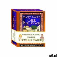 Pasterz Złoty pakiet gier biblijnych - praca zbiorowa (9788392380085) - ogłoszenia A6.pl