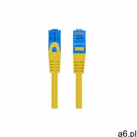 Lanberg patchcord s/ftp kat.6a 3m żółty lszh - pcf6a-10cc-0300-y- natychmiastowa wysyłka, ponad 4000 - 1