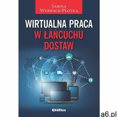 Wirtualna praca w łańcuchu dostaw - Sabina Wyrwich-Płotka, oprawa miękka - ogłoszenia A6.pl