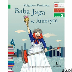 Baba Jaga w Ameryce. Czytam sobie. Poziom 2 - Zbigniew Dmitroca, Zbigniew Dmitroca - ogłoszenia A6.pl