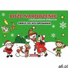 Boże narodzenie z bałwankiem oskarem - obrus do kolorowania - praca zbiorowa (9788366330108) - ogłoszenia A6.pl