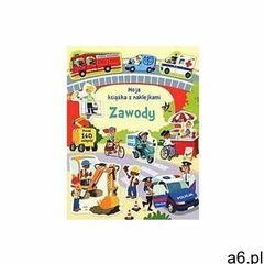 Moja książka z naklejkami. Zawody, oprawa broszurowa - ogłoszenia A6.pl