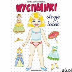 Wycinanki. stroje lalek - anna pietrzykowska, Literat - ogłoszenia A6.pl