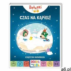 Czas na kąpiel! bobaski i miś. dobranoc, trefliki na noc. książeczka harmonijka - praca zbiorowa, pr - ogłoszenia A6.pl