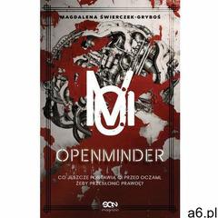 Openminder Tom 1 Koty - Magdalena Świerczek-Gryboś, oprawa broszurowa - ogłoszenia A6.pl