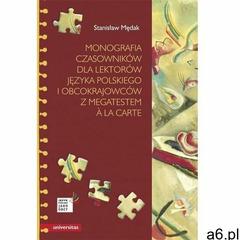Monografia czasowników dla lektorów języka polskiego i obcokrajowców z megatestem a la carte - Stani - ogłoszenia A6.pl