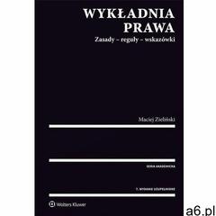 Wykładnia prawa (2017) - ogłoszenia A6.pl