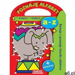 Poznaję alfabet - Rysuję i poznaję literki alfabetu - Praca zbiorowa, oprawa miękka - ogłoszenia A6.pl