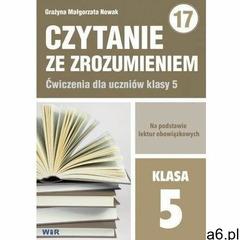 Czytanie ze zrozumieniem dla kl. 5 SP - Grażyna Małgorzata Nowak, Wir - ogłoszenia A6.pl