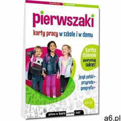 Pierwszaki. Karty pracy w szkole i w domu - Marta Kurdziel - książka (2021) - ogłoszenia A6.pl