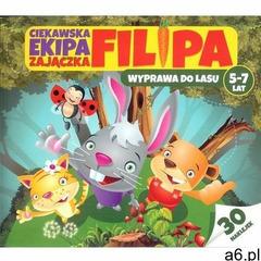 Ciekawska ekipa zajączka Filipa 5-7 lat [Bubicz Martyna], oprawa broszurowa - ogłoszenia A6.pl