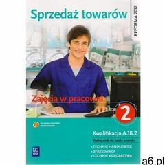 Sprzedaż towarów, część 2. Podręcznik WSiP, oprawa miękka - ogłoszenia A6.pl