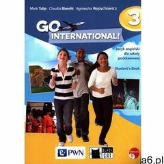 GO International! 3 Student's Book + 2CD (9788326220937) - ogłoszenia A6.pl