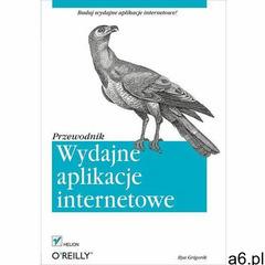 Wydajne aplikacje internetowe Przewodnik, oprawa miękka - ogłoszenia A6.pl