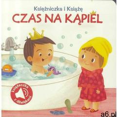 Poznaję dźwięki Czas na kąpiel, oprawa kartonowa - ogłoszenia A6.pl