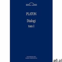 Dialogi Tom 1 - Platon - książka, Marek Derewiecki - ogłoszenia A6.pl
