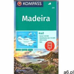 Madeira 1:50.000 Kompass (9783990446508) - ogłoszenia A6.pl