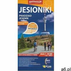 Mapa tur. wodoodporna - Jesioniki/Pradziad/Jesenik - praca zbiorowa - książka - ogłoszenia A6.pl