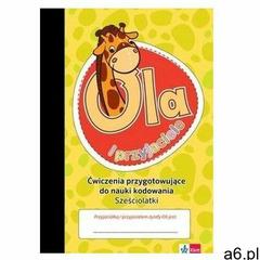 Żyrafa Ola. Zeszyt ćwiczeń do kodowania 6-latki - praca zbiorowa - książka (9788381650984) - ogłoszenia A6.pl
