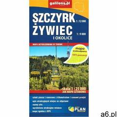 Mapa wodoodporna - Szczyrk, Żywiec i okolice - praca zbiorowa - książka - ogłoszenia A6.pl