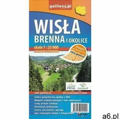 Mapa wodoodporna - Wisła i Brenna i okolice - praca zbiorowa - książka (9788366151192) - ogłoszenia A6.pl