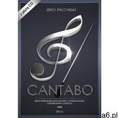 Cantabo T.2 Zbiór pieśni chóralnych+CD - praca zbiorowa - książka - ogłoszenia A6.pl