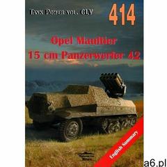 Opel Maultier 15 cm Panzerwerfer 42 vol. 414, oprawa broszurowa - ogłoszenia A6.pl