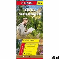 Mapa tur. - Tatry polskie i słowackie plastik Praca zbiorowa (9788374758284) - ogłoszenia A6.pl