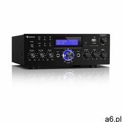 Auna amp-5 bt, wzmacniacz hi-fi, 2 x 50 w rms, bluetooth, 2 x wejście mikrofonowe, czarny (406065622 - ogłoszenia A6.pl