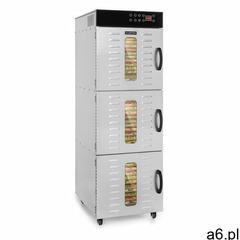 Klarstein master jerky 550, suszarka do żywności, 2400 w, 40 - 90 ° c, 24 godz. czasomierz, stal nie - ogłoszenia A6.pl