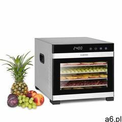 flavour dry, suszarka do żywności, 35 - 75 °c, ekran dotykowy lcd, minutnik, kolor czarny marki Klar - ogłoszenia A6.pl