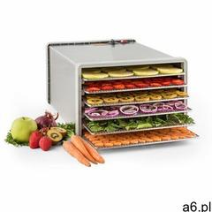 Klarstein Fruit Jerky Pro 6 automat do suszenia dehydrator 630W 6 poziomów stal (4260435917755) - ogłoszenia A6.pl