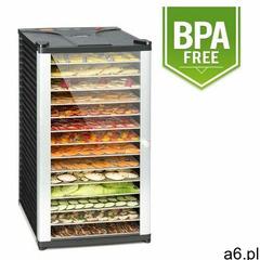 Klarstein fruit jerky 14 automat do suszenia 1000w 14 segmentów ze stali czarny - ogłoszenia A6.pl