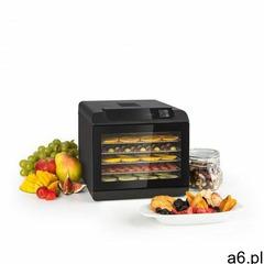 Klarstein Arizona Jerky suszarka spożywcza 500W 35-70°C cyfrowy wyświetlacz dotykowy czarna - ogłoszenia A6.pl