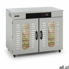 Klarstein Master Jerky 500, suszarka do żywności, 3000 W, 40 - 90 ° C, 24 godz. czasomierz, stal nie - ogłoszenia A6.pl
