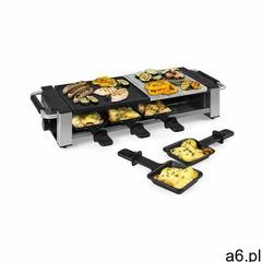 Klarstein bistecca, grill raclette, metal/kamień, na 8 osób, lampka kontrolna led, 1200 w (406065623 - ogłoszenia A6.pl