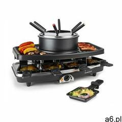 Klarstein ntrecote-fondle grill-raclette kamieńnaturalny 1100w - ogłoszenia A6.pl