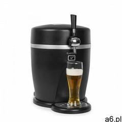 Klarstein Tap2Go, mobilny dystrybutor piwa 2 w 1 z lodówką na napoje, 5 l / 13 l, czarny (4060656156 - ogłoszenia A6.pl
