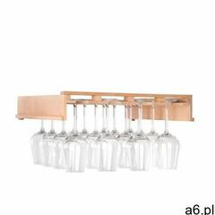 Klarstein barossa 102d regał na kieliszki do wina osprzęt 4 szyny prawdziwe drewno - ogłoszenia A6.pl