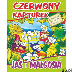Czerwony Kapturek -Jaś i Małgosia (5907438272915) - ogłoszenia A6.pl