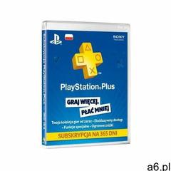 Sony Playstation plus subskrypcja na 365 dni - ogłoszenia A6.pl