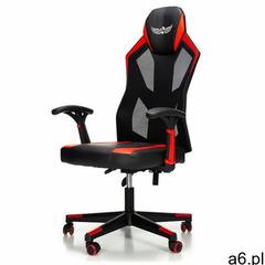 Fotel gamingowy NORDHOLD - IGNIS - czerwony - ogłoszenia A6.pl