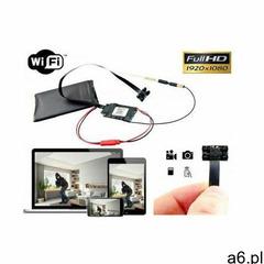 Szpiegowska Mini-Kamera FULL HD (do ukrycia/zabudowy) WiFi/P2P Dz.-Nocna (cały świat!) + Zapis.. - ogłoszenia A6.pl