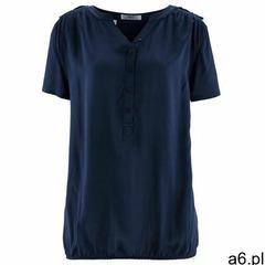 Tunika z wiskozy, krótki rękaw ciemnoniebieski marki Bonprix - ogłoszenia A6.pl