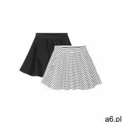Bonprix Spódnica dziewczęca (2 szt.) czarno-biały - ogłoszenia A6.pl