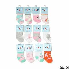 Yo! Skarpety skc baby girl 0-9 m-cy a'12 rozmiar: 0-3 miesiące, kolor: wielokolorowy, yo! - ogłoszenia A6.pl