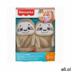 Skarpetki odsłaniające paluszki leniwce marki Fisher price - ogłoszenia A6.pl